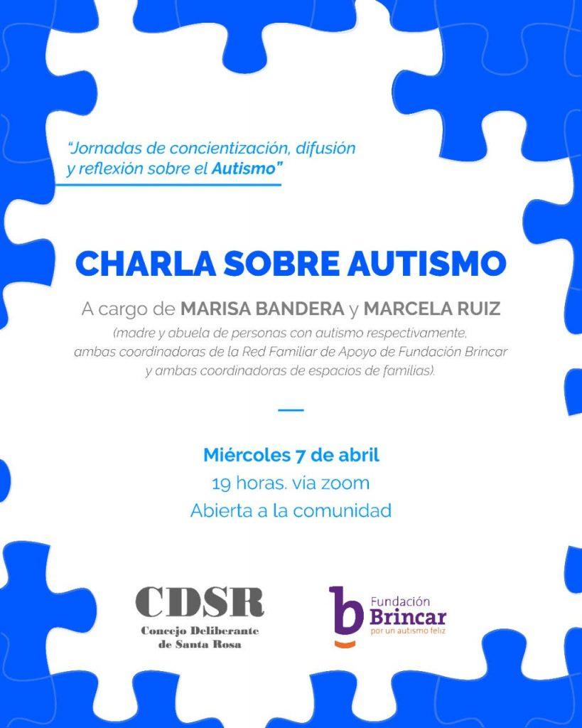 Charla sobre autismo