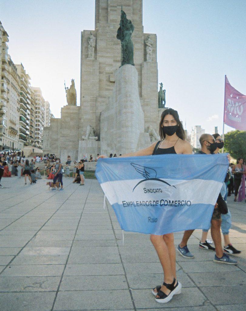"""Victoria """"Cuqui"""" Rodríguez, la primera delegada sindical trans del CEC"""