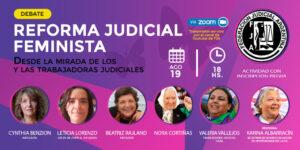 Ciclo de debate por una Reforma Judicial Feminista