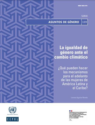 La igualdad de género ante el cambio climático