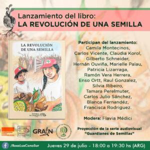 """Lanzamiento del libro """"La Revolución de una semilla"""""""