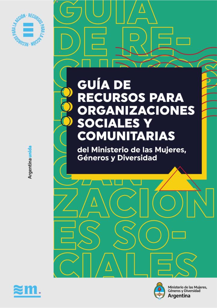 Guía de recursos para organizaciones sociales y comunitarias