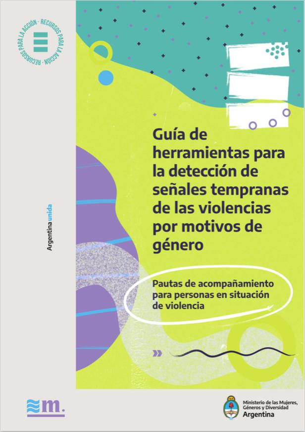 Guía de herramientas para la detección de señales tempranas de las violencias por motivos de género