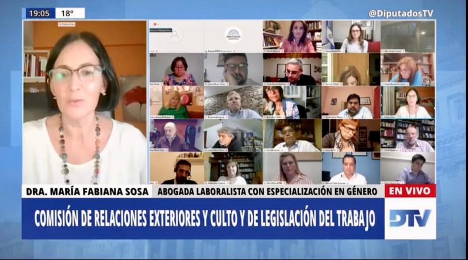 Justicia laboral en clave feminista. Entrevista a la abogada laboralista feminista María Fabiana Sosa